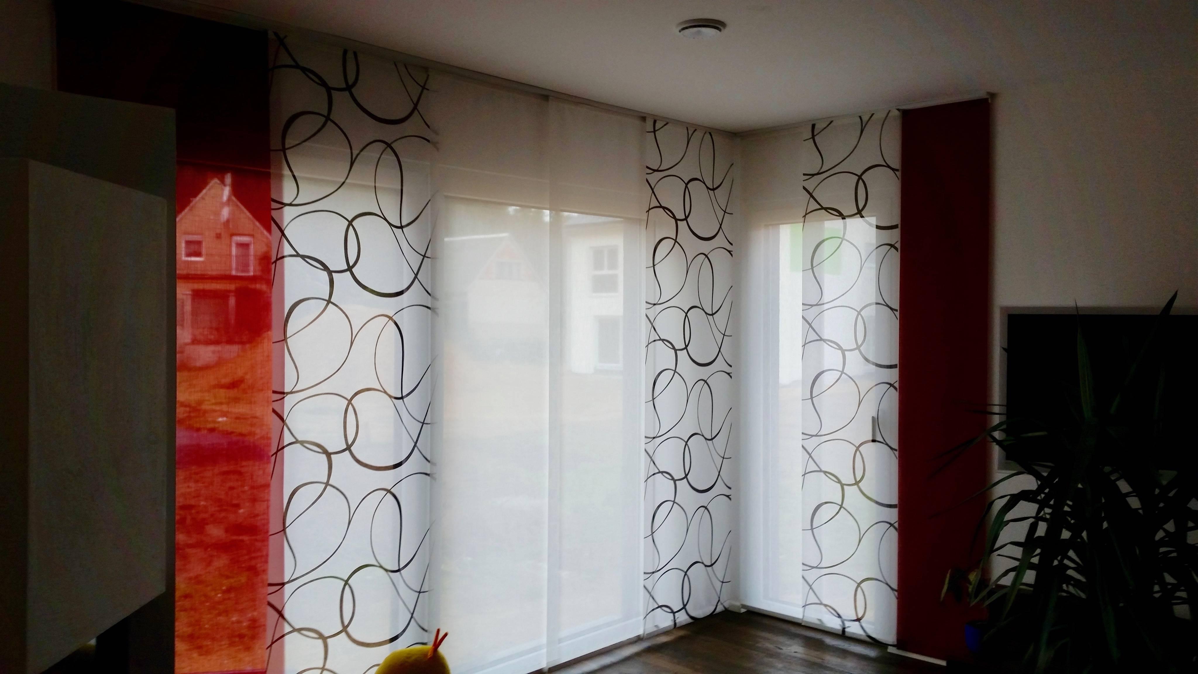 Flachenvorhange Wohndesign Roth